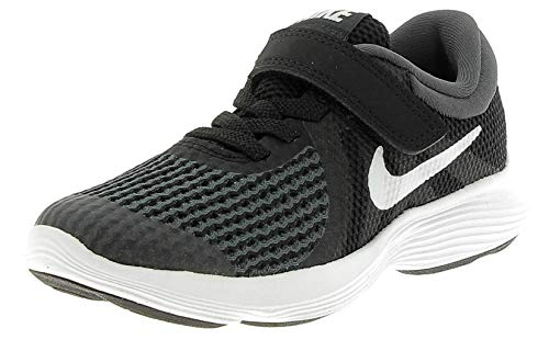 Nike Jungen Revolution 4 (TDV) Hausschuhe, Schwarz (Black/White-Anthracite 006), Numeric_17 EU