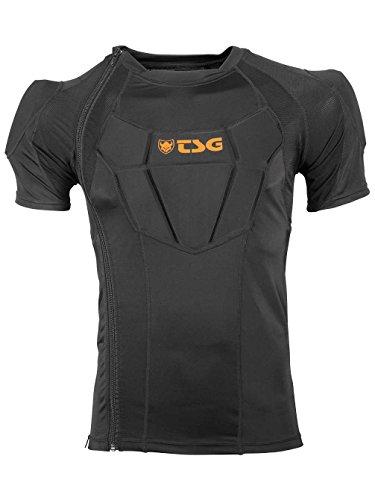 TSG Rückenschutz Frag Shirt Advanced Short Sleeve D30, Black, M, 740060