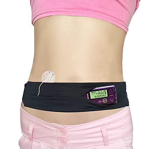 Kids Diabetic Belt, T1D Children Insulin Pump Holder, Type 1 Diabetes Adjustable Waist Band Medical Devices Accessories for Dexcom, T-Slim, EpiPens, Girls, Boys