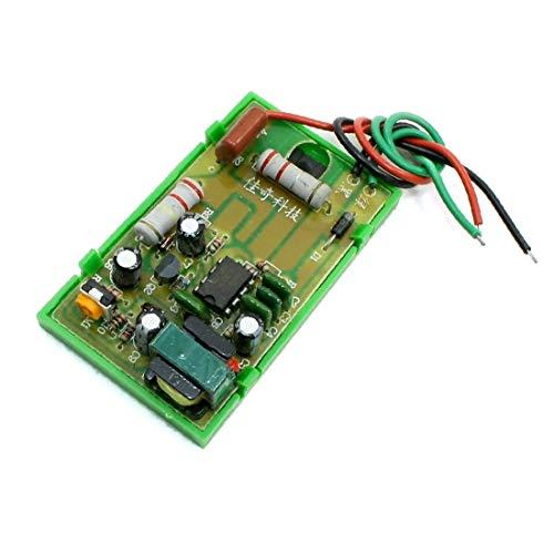 X-DREE Módulo de fuente de alimentación con cable de 63 mm x...