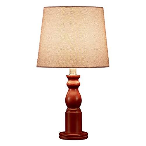 Lampe de table Salon Décoration Chambre Lampe De Chevet Bureau Lumière Chinois Style Designs Simple Tissu Shade En Bois