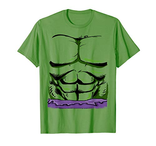 Marvel Incredible Hulk Halloween Costume Graphic T-Shirt T-Shirt