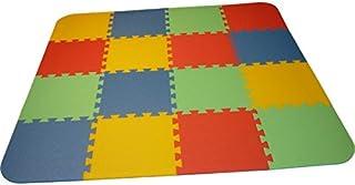 8 mm gelb Bodenmatte Puzzlematten Einzelteile