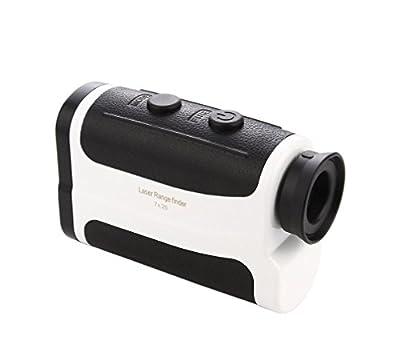 Golf Laser Rangefinder, TEAMAR Digital Golfing Range Finder, Golf Distance Meter Accurate up to 760 Yards, Laser Range Finder with Pinsensor, Laser Binoculars, Compact Design With Travel Case from TEAMAR