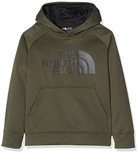 The North Face Kids TNF Sudadera con capucha Surgent, Niños, New Taupe Green, S