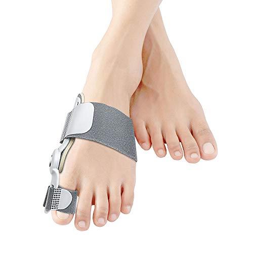 Bunion Corrector, Orthopedic Bunion Splint Toe Straightener Bunion Corrector Big Toe Splint for Sprain Foot Brace for Bunions - Grey
