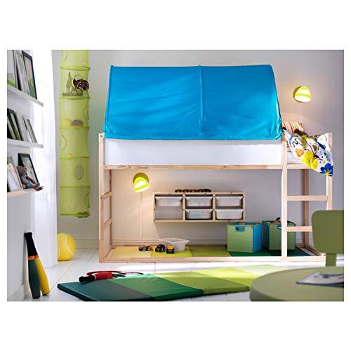 IKEA KURA tenda letto 97 x 68 cm turchese