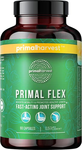 Primal Harvest Joint Supplement, Fast Acting Joint Pain Relief...