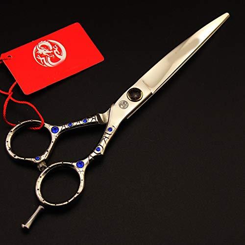 Ciseaux à courbure professionnelle de 7 pouces pour toilettage et coupe de cheveux