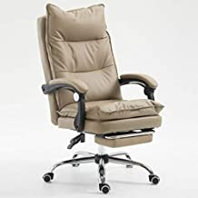 Watemallment Furniture Chair Ergonomic Synthetic Leather Recliner Office E-Sports Game Chair Ergonomic Synthetic Leather R...