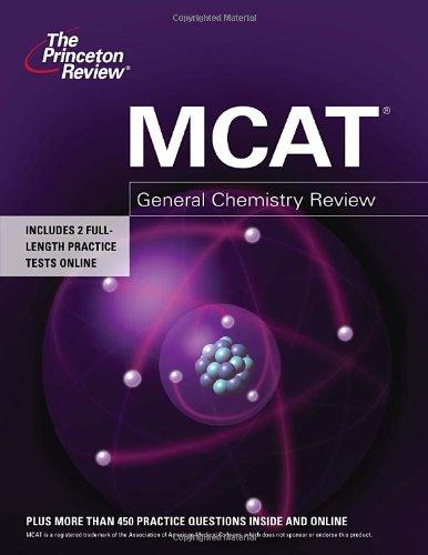 Mcat General Chemistry Review Graduate School Test Preparation