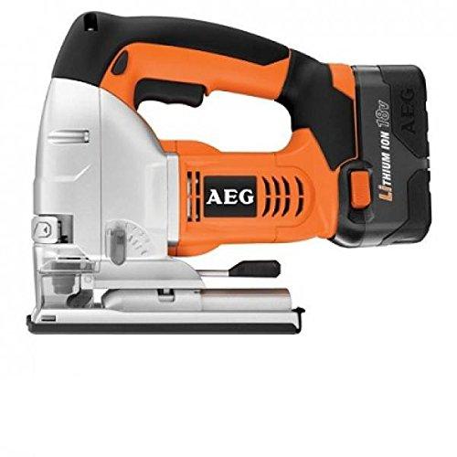 AEG Powertools 0000020 Sierra de calar a batería de 18 V