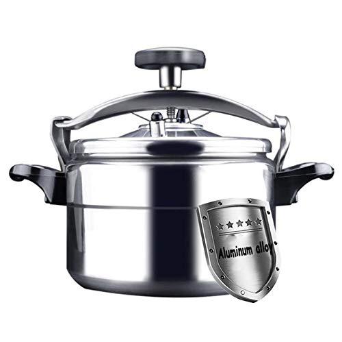 YWSJGH Kommerzieller Aluminiumlegierungs-Druckkocher, großer Kapazitätsküchen beweglicher Suppentopf-Slow-Kocher, mehrfache Schutzventile, Energieeinsparung und Zeitsparung, Drüsen-Druckkocher 4~80L