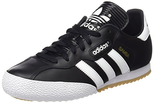 adidas Samba Super, Zapatillas para Hombre, Negro Black Run White, 40 2/3 EU