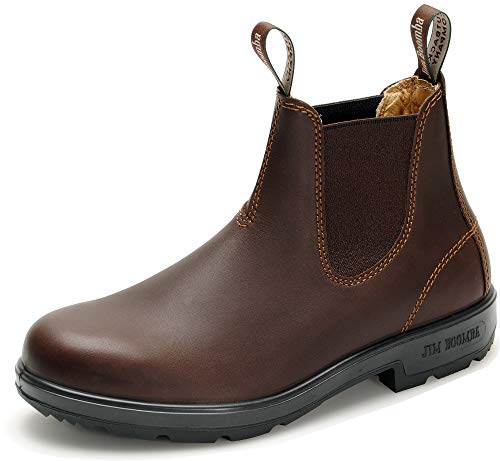 Jim Boomba Town & Country Offroad Chelsea Boots JBCH Unisex Stiefelette   Chestnut   UK 6.5 / EU 40.0