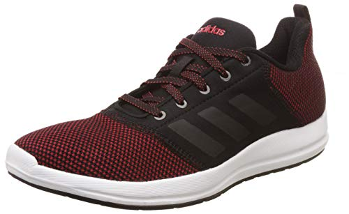 Adidas Men's CYBERG 1.0 M Scarle/CBLACK Running Shoes-10 UK/India (44 EU) (CK9531_10)