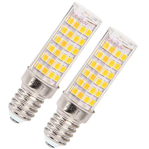 Lampe dunstabzugshaube led E14 7W, Ersatz für 50W Halogenlampen, Warmweiß 3000K, AC220V-240V, für Kronleuchter Wandlampe (2er-Pack)