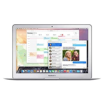 Apple MacBook Air MJVE2LL/A Intel Core i5-5250U X2 1.6GHz 4GB 256GB Silver  Renewed