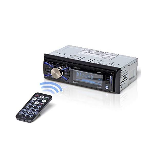 BOSS Audio Systems 632UAB Multimedia Car Stereo – Single Din, Bluetooth Audio...