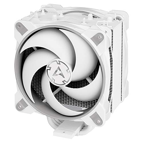 ARCTIC Freezer 34 Esports Duo - Tower CPU Cooler with BioniX P-Series case Fan in Push-Pull, 120 mm PWM Fan, for Intel and AMD Socket - Grey;White