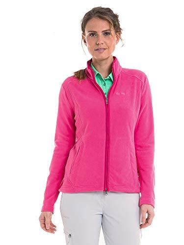 Schöffel Leona2 Damen Fleece Jacke, fandango pink, 44
