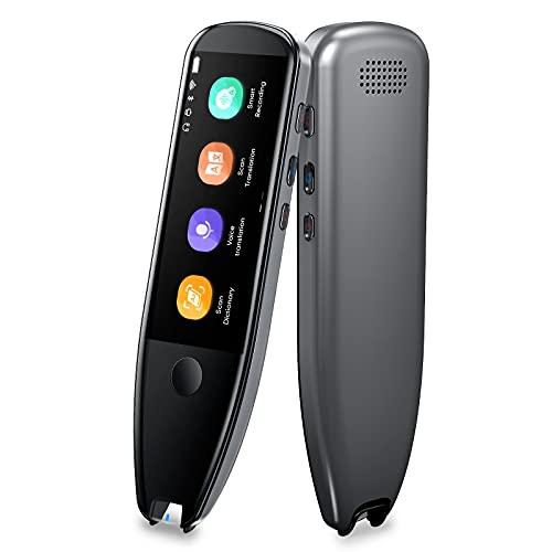 Vormor Scanner Pen Traducteur X5 | Traducteur vocal instantané avec 112 langues | Scanner Text-To-Speech avec OCR/Bluetooth/Wi-Fi, Stylet Lecteur pour réunions, Voyages, Shopping, Apprentissage