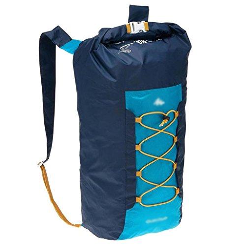 LINGZHIGAN Plein air sac à dos de peau pliable hommes et femmes imperméable à l'eau mince loisirs léger et durable, facile à transporter, peut être stocké assurance qualité résistant à l'usure de l'ea