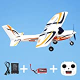 FMS Ranger 850mm RTF Reflex Gyro System with GPS Remote Control RC Airplane for Beginner Ready to Fly (Including Transmitter,Receiver,Charger)
