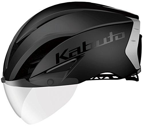 OGK KABUTO(オージーケーカブト) ヘルメット AERO-R1 マットブラック-2 S/M(頭囲 55cm~58cm)