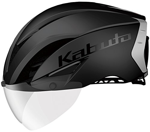 OGK KABUTO(オージーケーカブト) ヘルメット AERO-R1 マットブラック-2 L/XL (頭囲 59cm~61cm)