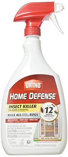 Price comparison product image Ortho 0196410 Home Defense MAX Insect Killer Spray for Indoor and Home Perimeter,  24-Ounce (Ant,  Roach,  Spider,  Stinkbug & Centipede Killer)(2Pack)