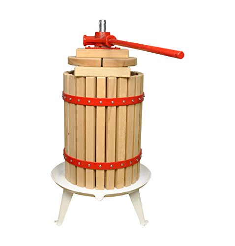 Selections Traditional Fruit and Apple Press (18 Litre) with Straining Bag