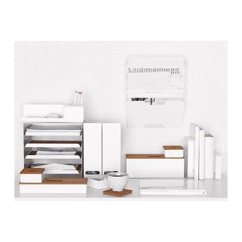 IKEA(イケア)KVISSLE40198018ウォール新聞ラック,ホワイト