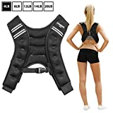 Synergee Weighted Vest Infinity Vest Workout Equipment - Body Cardio Walking or Running