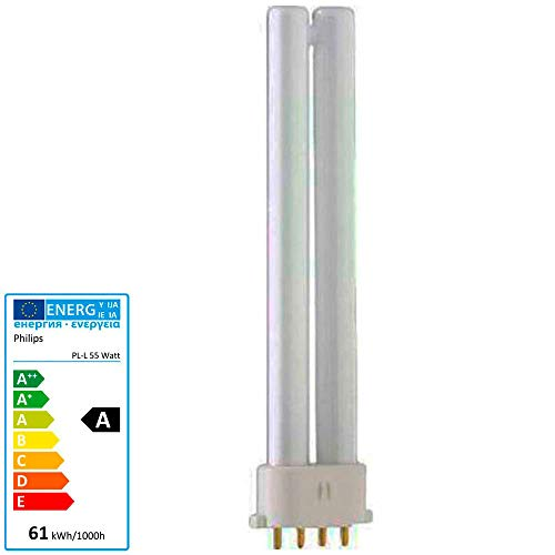 Philips Kompakt-Leuchtstofflampe Master PL-L 865 4P 2G11 daylight 55W EEK: A