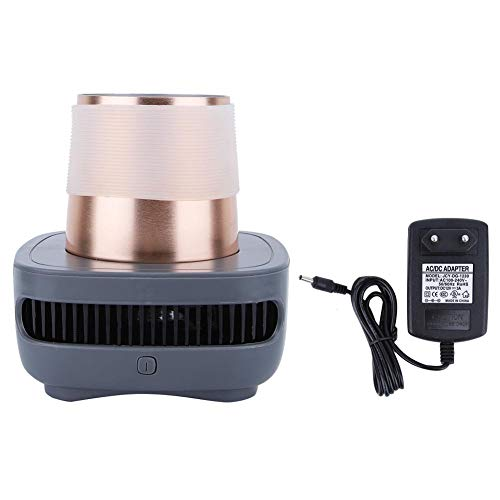 Mini koelkast, koelkast koeling Cup, draagbare zomer drankje koeler Instant koeling Cup, met adapter, intelligente koeling, voor voertuig, reizen, kantoor, enz.(Amerikaanse stekker 100V ~ 120V)