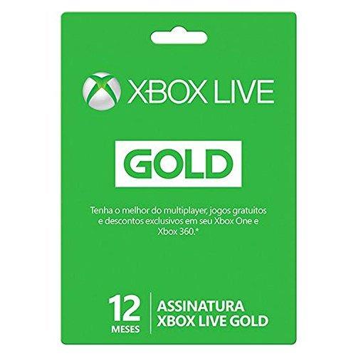 Microsoft Xbox Live Gold - 12 meses
