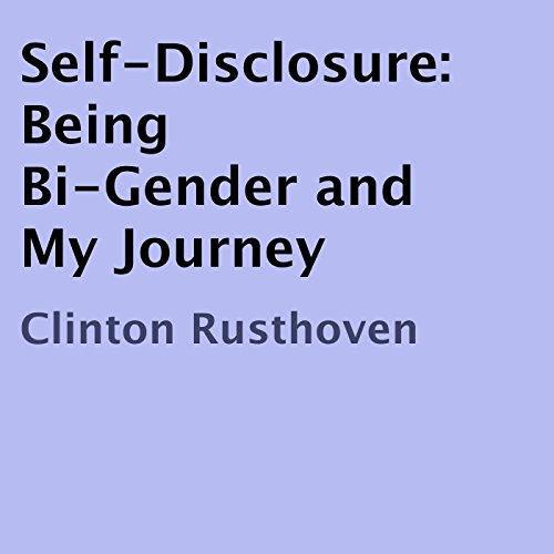 Self-Disclosure audiobook cover art