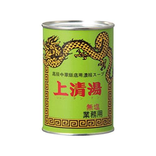 MCフードスペシャリティーズ 上清湯 無塩 4号缶×24