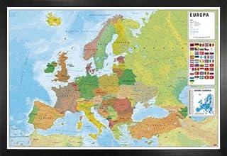 Amazon.es: mapa Europa fisico