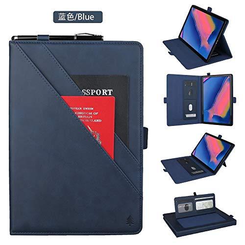 Beschermhoes voor tablet met dubbele standaard van hoogwaardig PU-leer met automatische slaap-/wake-functie, voor Samsung Galaxy Tab A 8,0 inch SM-P200 / SM-P205, random color