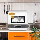 Portable Countertop Dishwasher 5 Washing Programs - Normal, RA-PID...