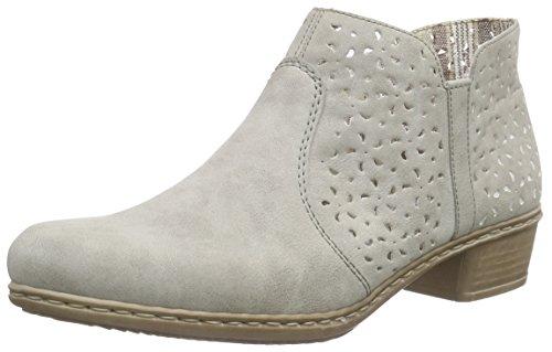 Rieker Damen M0785 Kalt gefüttert Classics Kurzschaft Stiefel und Stiefeletten, Grau (Grey/40), 41