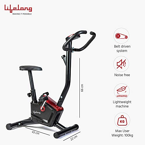 Lifelong LLF54 Fit Pro Stationary Exercise Bike