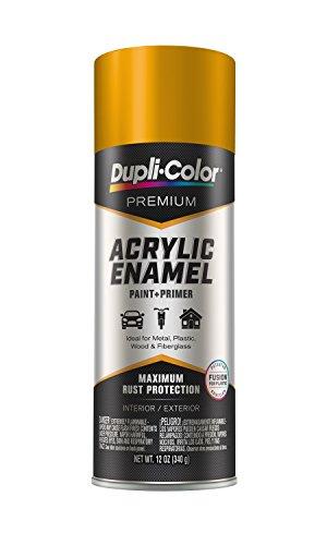 Dupli-Color Epae10900 Premium Acrylic Enamel Spray Paint (Pae109 School Bus Yellow 12 Oz), 12. Fluid_Ounces