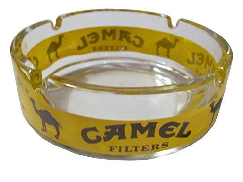 Camel Cigarettes - Aschenbecher 13 x 5 cm - Brauner Schriftzug