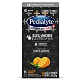 Pedialyte AdvancedCare Plus Electrolyte Powder, with 33% More Electrolytes and PreActiv Prebiotics, Orange Breeze, Electrolyte Drink Powder Packets, 0.6 oz, 6 Count