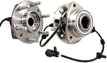 Callahan 513188X2 [2] Pair FRONT Premium Grade [ 6 Lug ] Wheel Hub Bearing Assemblies [ 513188 ]
