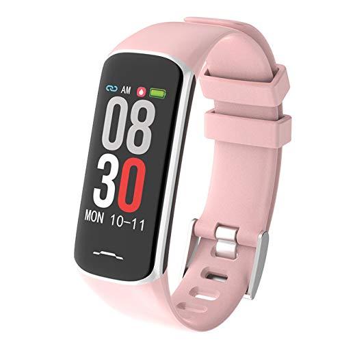 MOLINB Slim horloge Fitnessarmband Bloed met drukmeting Hartslagmeter Slimme waterdichte slimme armband Polshorloge Dameshorloge