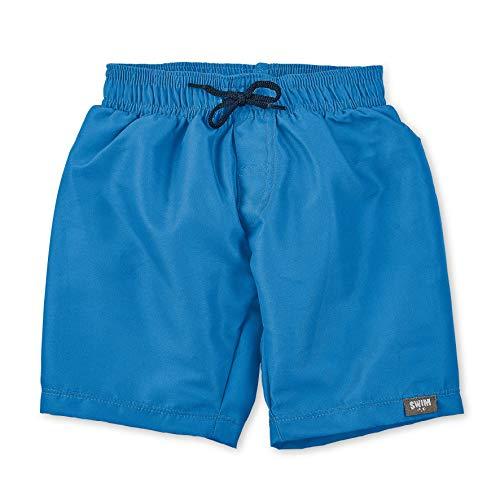 Sterntaler Jungen Badeshorts mit Windeleinsatz, UV-Schutz 50+, Alter: 6 - 12 Monate, Größe: 74/80, Farbe: Blau